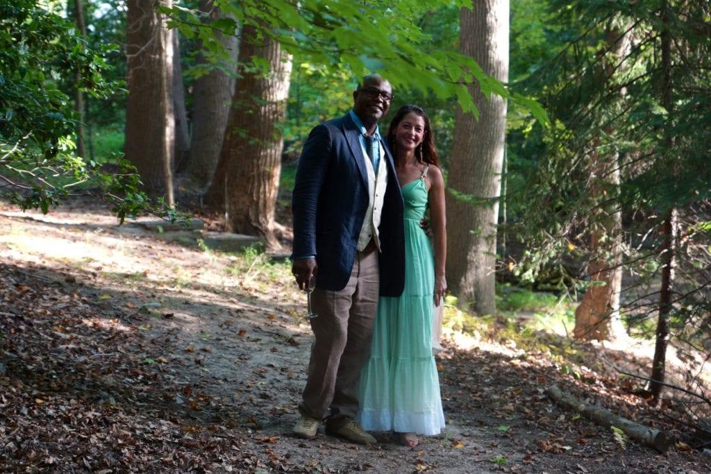 Wedding photo at Ntianu Center